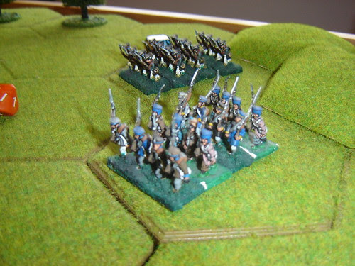 More Prussian infantry arrive