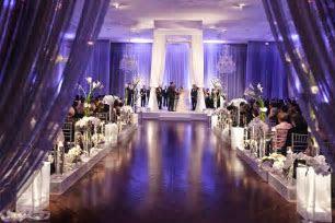 Wedding Color Palettes: Purple Décor   Inside Weddings