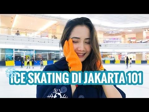 Main Ice-Skating di Musim Panas