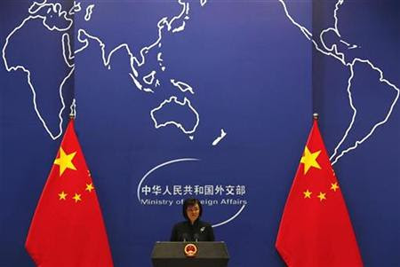 China's Foreign Ministry spokeswoman Jiang Yu speaks during a news conference in Beijing in this December 7, 2010 file photo. The People's Republic of China says it will increase bi-lateral trade with the African continent. (REUTERS/David Gray) by Pan-African News Wire File Photos
