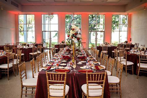 Burgundy & Gold Spanish Villa Wedding   Tampa Garden Club