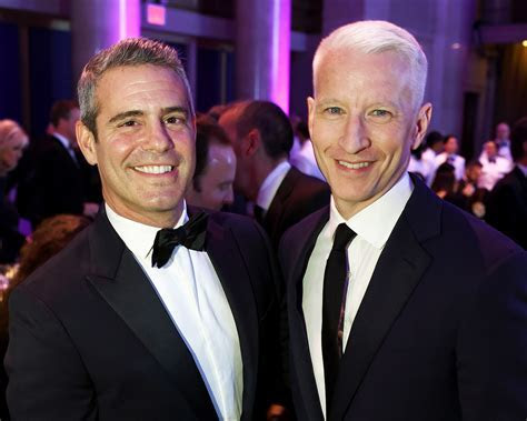 Andy Cohen, Anderson Cooper   Newest Wedding Crashers
