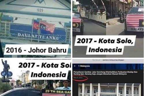 Kempen bendera terbalik: Majoriti gambar sebelum 2018