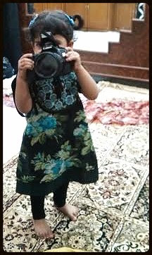 The Birth Of A Camera .. In The Hands Of a 2 Year Old Child by firoze shakir photographerno1