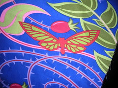 Detail of Butterfly in print