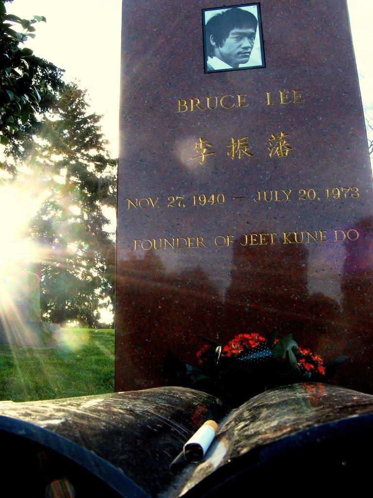 Bruce Lee memorial @ Lake View