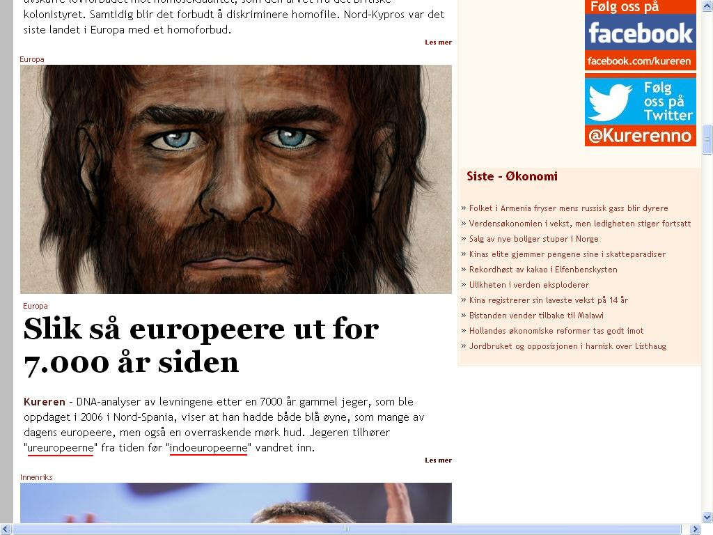 vaner ureuropeerne