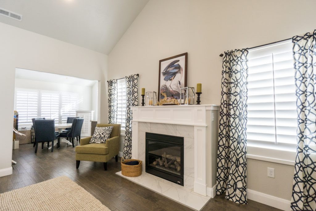 How To Pair Plantation Shutters With Curtains Wasatch Shutter