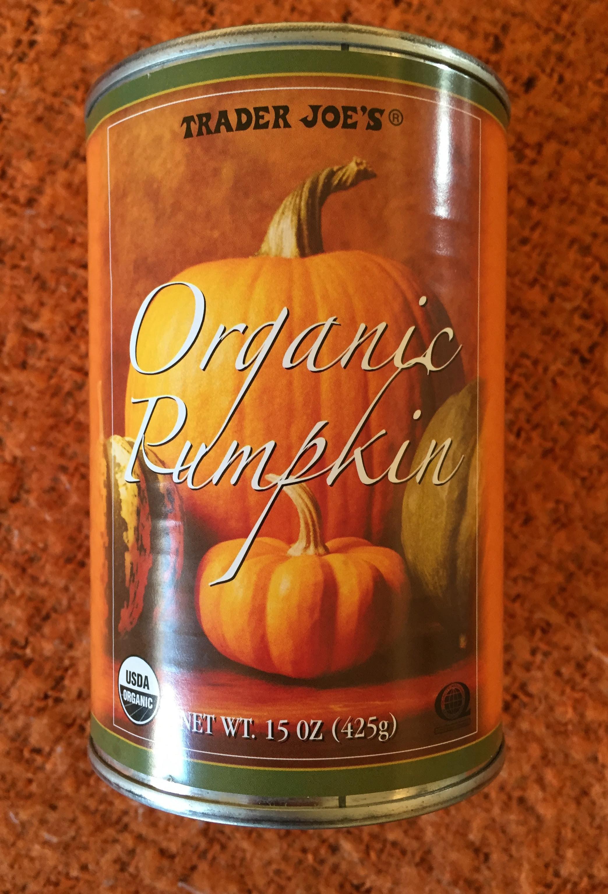 trader joe's pumpkin pie calories