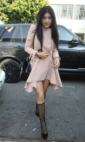 Kylie Jenner - 'Keeping Up with the Kardashians' Films in LA