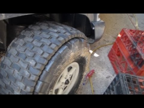 Tire Upgrade Power Wheel Youtube