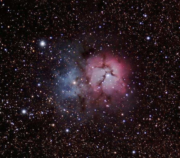 Astrophoto: Trifid Nebula by Jeanette Dunphy