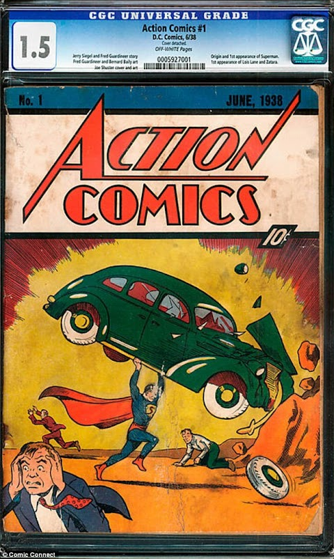 First Edition Superman Comic Book Worth