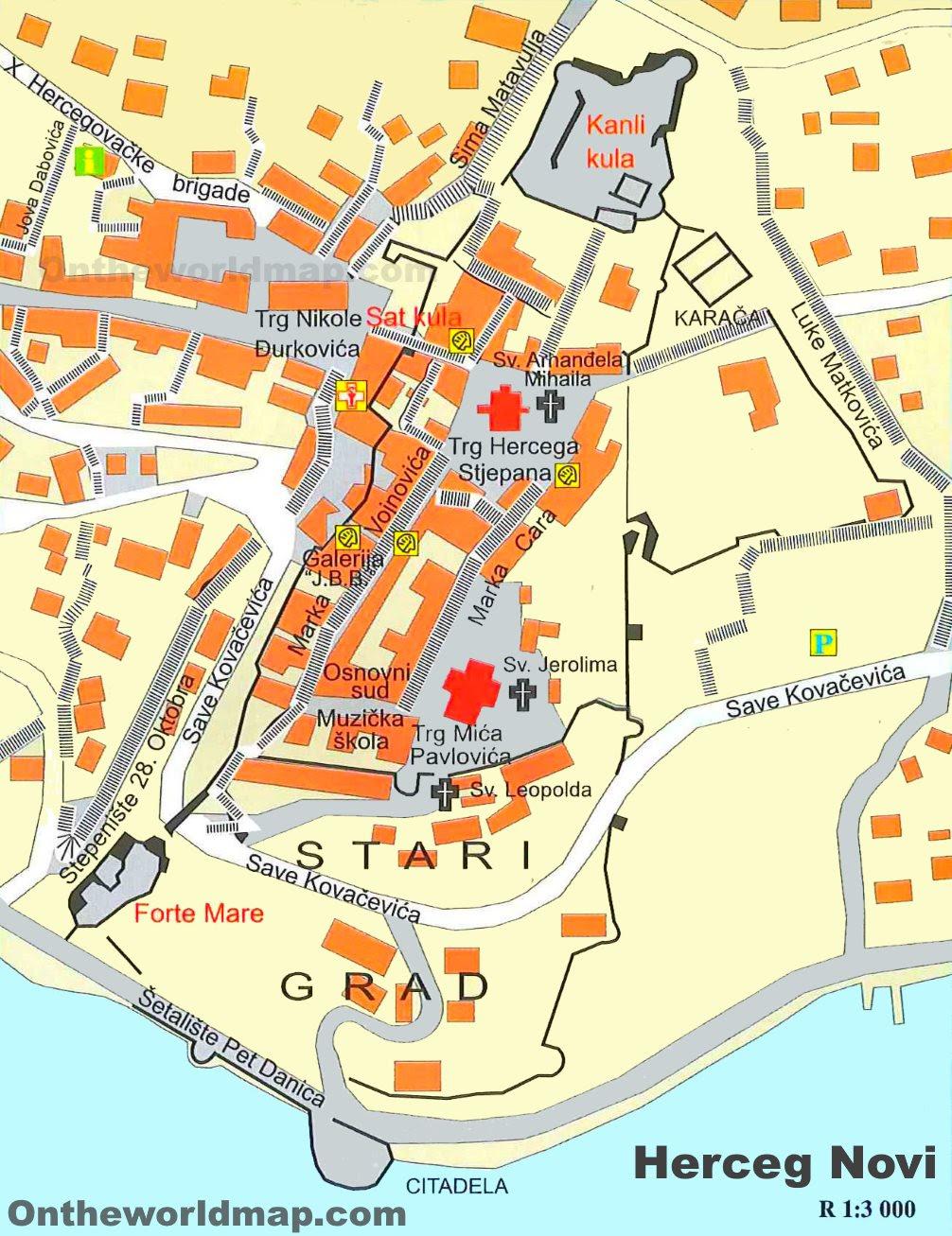 Herceg mapa katastar novi еКатастар непокретности