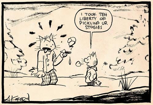 Laugh-Out-Loud Cats #2415 by Ape Lad