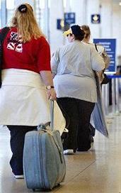 fat passengers