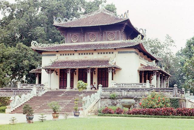 Saigon 1964 - Saigon Zoo Entrance