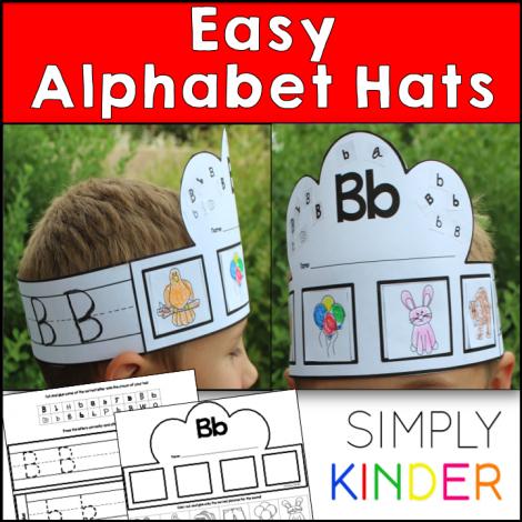 Alphabet Hats   Alphabet and Hats