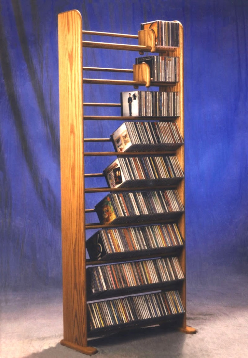 Easy Z Archive Wooden Cd Rack Plans