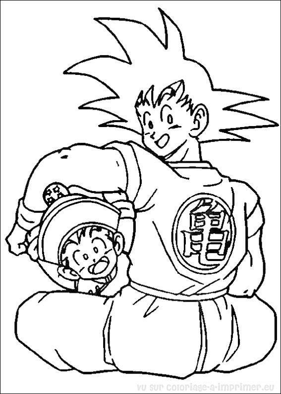 【choisi】 Coloriage A Imprimer Dragon Ball