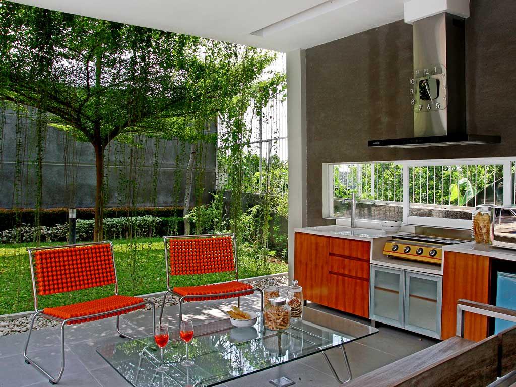 Desain  Dapur  dan  Ruang  Makan  Terbuka 3 Desain  Rumah