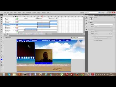 Ενσωμάτωση βίντεο και ήχου στο flash website