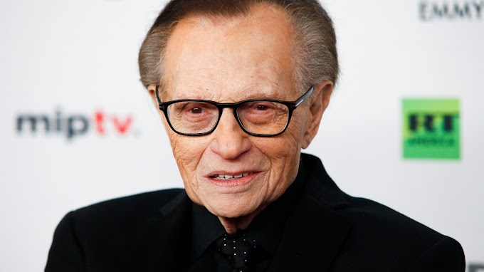 Larry King: Nigerian celebrities react to death of American broadcaster