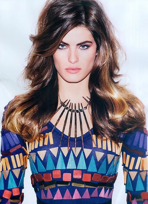 Isabeli Fontana na Vogue Brasil - JUN/12