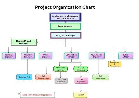 Project Organization chart   Project Management