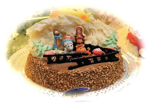 Ventian Christmas Cake