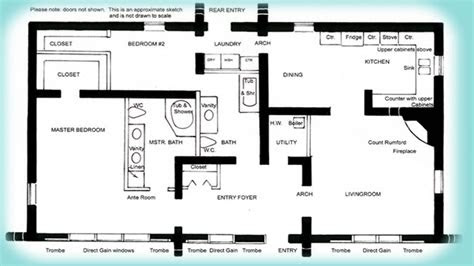 bedroom house plans simple house plans small solar home
