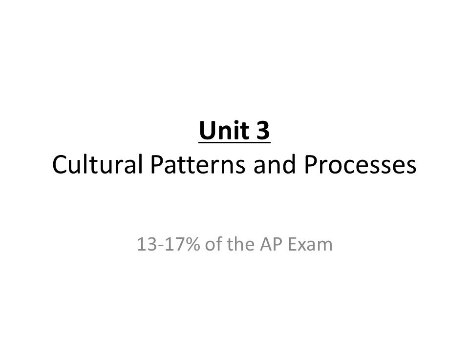 AP HUMAN GEOGRAPHY EXAM REVIEW  ppt video online download