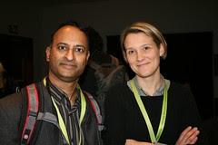 SXSW BlogHaus : Shashi Bellamkonda & Maggie Fox