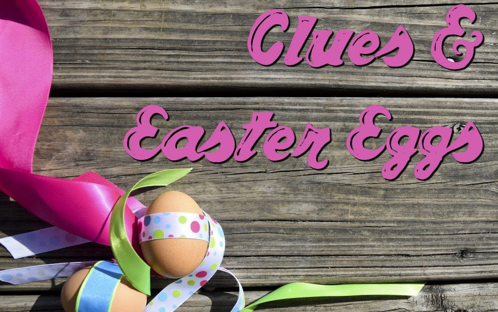 Clues and Easter eggs banner