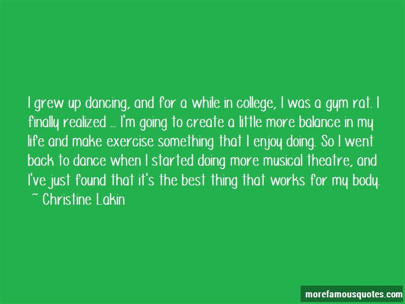 Musical Theatre Dance Quotes Top 5 Quotes About Musical Theatre Dance From Famous Authors