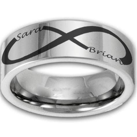 Izyaschnye wedding rings: Infinity men s wedding rings