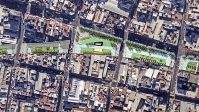 """Resultado de imagen para crear un """"techo verde"""" sobre las vías del Sarmiento"""