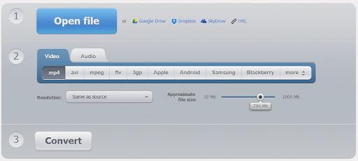 موقع Online Video Converter لتحويل الفيديو اون لاين