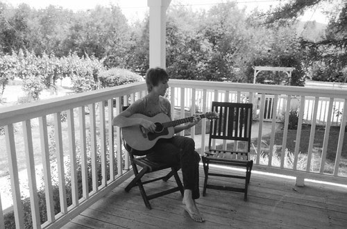 Eric and Guitar