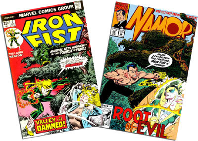 Iron Fist #2/Namor #22