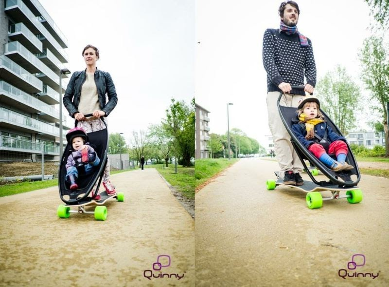 designer prams - revolutionary blend with longboard by quinny ... - Designer Kinderwagen Longboard Quinny