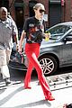 gigi hadid rocks vintage star wars t shirt and red bell bottoms2 05