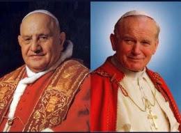 Giovanni XXIII e Giovanni Paolo II