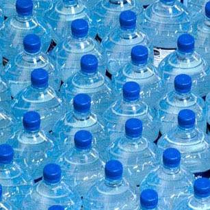 bouteilles en plastique