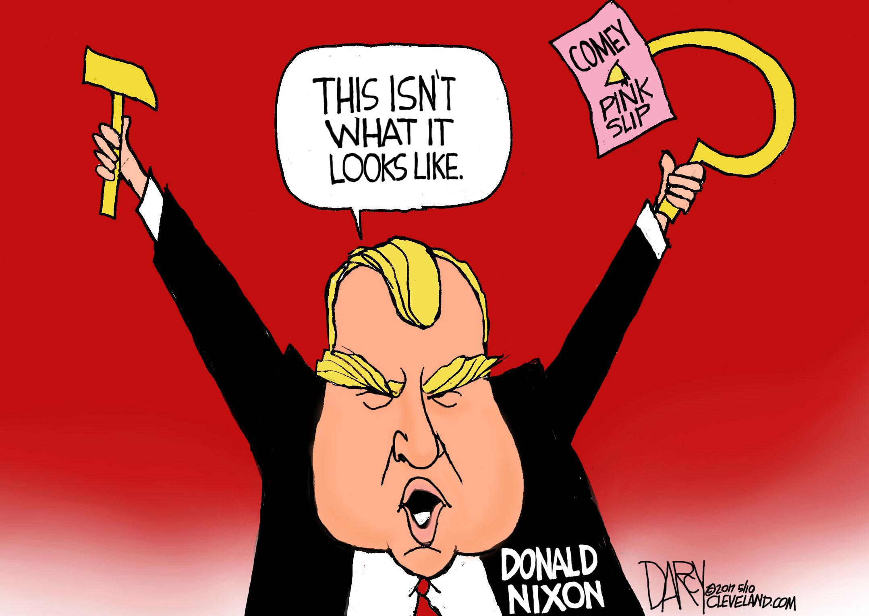 Image result for trump comey cartoon