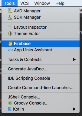 Error: In adding Firebase Storage dependency to Android Studio Project?