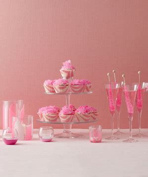 The Table   Fun Ideas for Pink Theme Bridal Shower   Real