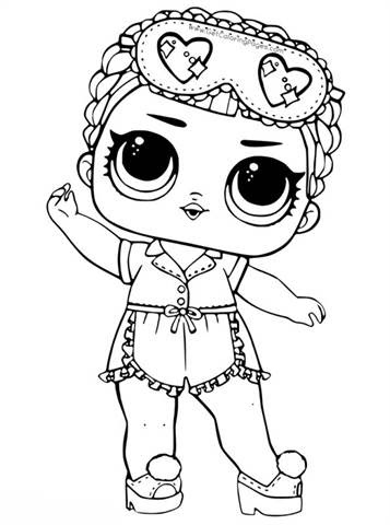 kidsnfun  30 coloring pages of lol surprise dolls