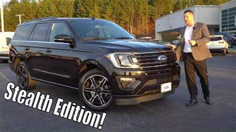 ford expedition stealth edition youtube