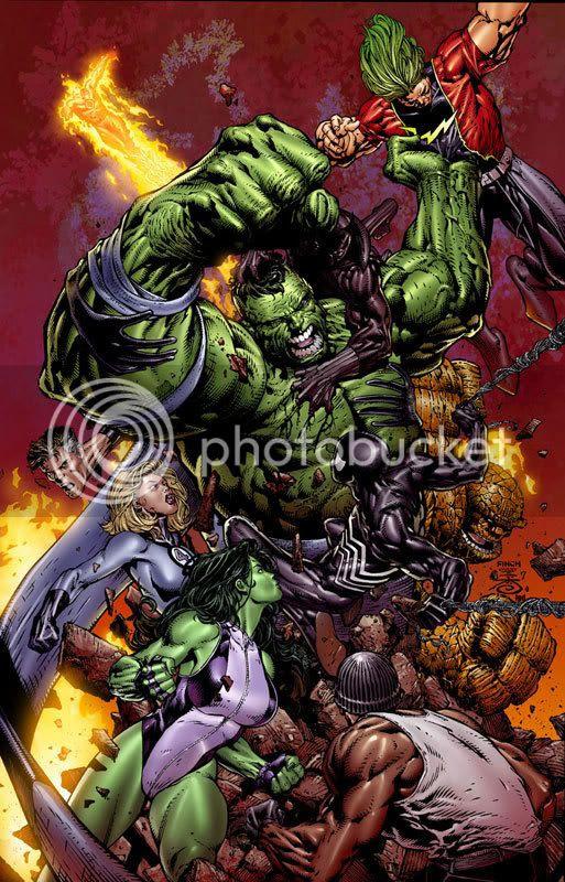 Hulk vs Earth